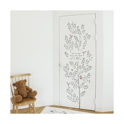 ドア リフォーム シート リメイク 壁紙 室内ドア 玄関 DIY 【 ドアシート 】 イン・ザ・モーニング