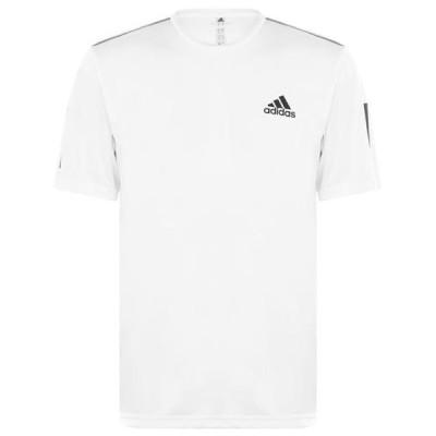 アディダス シャツ メンズ トップス Mens Tennis Club 3-Stripes T-Shirt