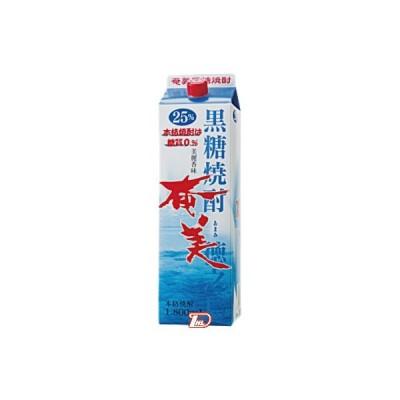 奄美 黒糖 25度 奄美酒類 1.8L(1800ml) パック 6本入