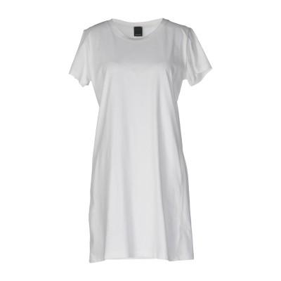 ピンコ PINKO ミニワンピース&ドレス ホワイト L コットン 100% ミニワンピース&ドレス