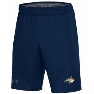 Under Armour アンダー アーマー スポーツ用品  Under Armour Montana State Bobcats Navy MK-1 Performance Shorts