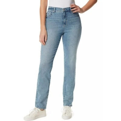 グロリアバンデービルト デニムパンツ ボトムス レディース Petite Average Straight Jeans  -