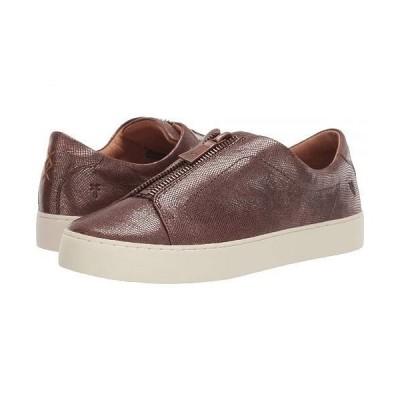 Frye フライ レディース 女性用 シューズ 靴 スニーカー 運動靴 Lena Zip Low - Multi Metallic Foil Embossed Leather
