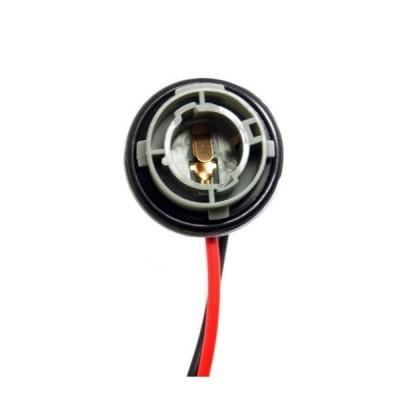 AL 1ピース 1156/7506/BA15S LED バルブ ウインカー ライト ソケット ハーネス プラグ AL-LL-8179