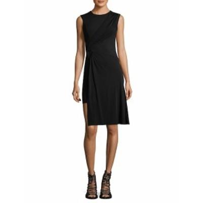 ヴェルサーチ レディース ワンピース Asymmetrical Sheath Dress