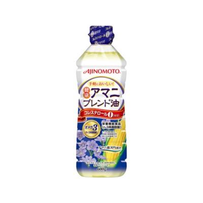 J-オイルミルズ/AJINOMOTO 健康 アマニブレンド油 600g