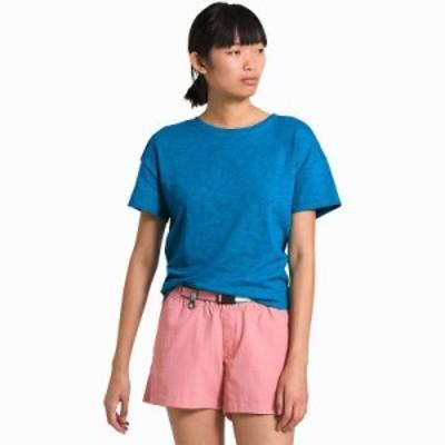 (取寄)ノースフェイス レディース エメリン ショートスリーブ トップ The North Face Women Emerine Short-Sleeve Top Clear Lake Blue