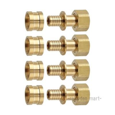 三栄水栓 SANEI T6150-44S-13X13A ナット付アダプターセット