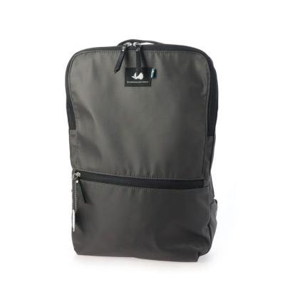 スカンジナビアンフォレスト SCANDINAVIAN FOREST PCポケット付きスマート10ポケットリュック (チャコール)