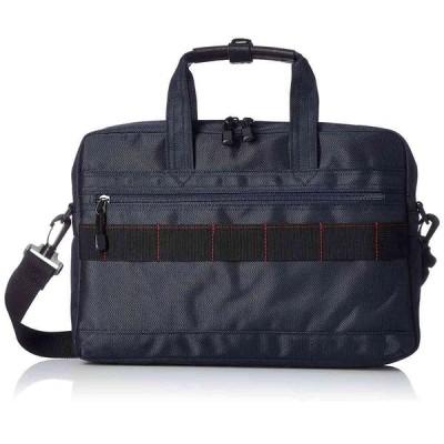 《日常的に使える飽きのこないデザイン》MODE FAS メンズビズネスバッグB5サイズ収納可MF27011ネイビー