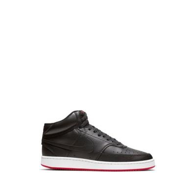 ナイキ メンズ スニーカー シューズ Court Royale Mid Sneaker 005 BLACK/BLACK
