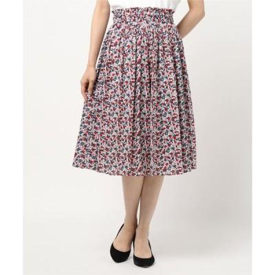 スカート WP83 JUPE フラワープリントスカート