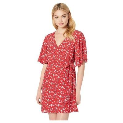 サンクチュアリ Sanctuary レディース ワンピース ワンピース・ドレス Girl On Fire Faux Wrap Dress Simply Red