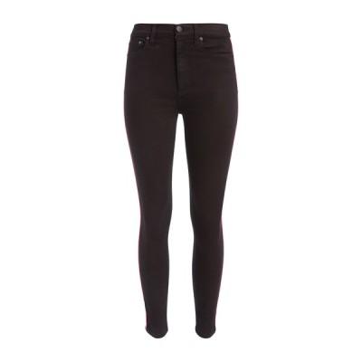 アリス アンド オリビア レディース デニムパンツ ボトムス Good High Rise Side Piping Skinny Jeans NIGHT FEVER