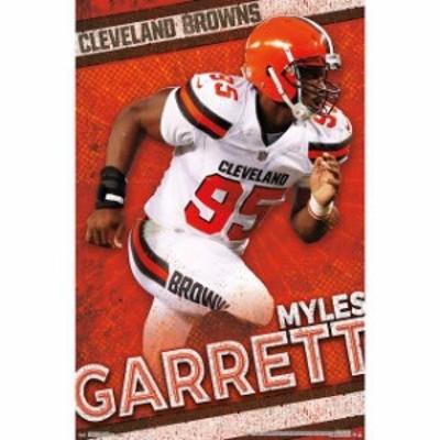 Trends International トレンド インターナショナル スポーツ用品  Myles Garrett Cleveland Browns 22 x 34 Player Poster