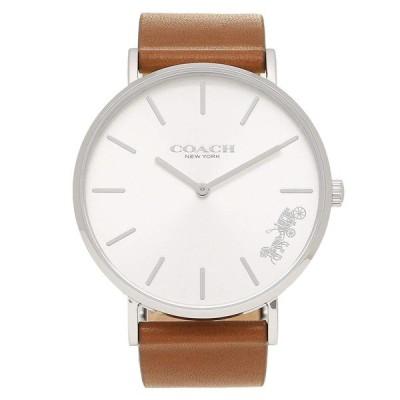 コーチ COACH ペリー Perry レディース 時計 腕時計 シルバー ブラウンレザー 14503120