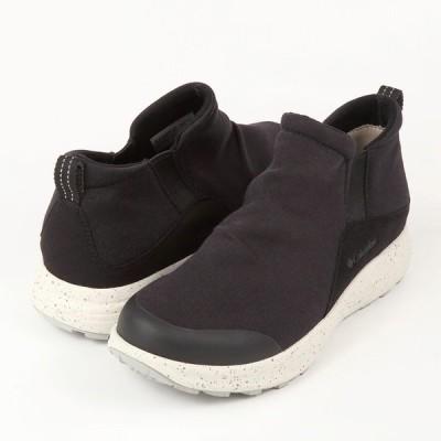 コロンビア トランスウェイ スリップ ウォータープルーフ YU0348-010 メンズシューズ 黒靴 黒スニーカー ブラック