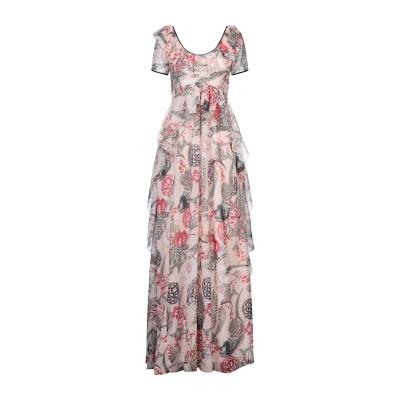 テンパリー・ロンドン TEMPERLEY LONDON ロングワンピース&ドレス ライトピンク 10 ポリエステル 100% ロングワンピース&ドレス
