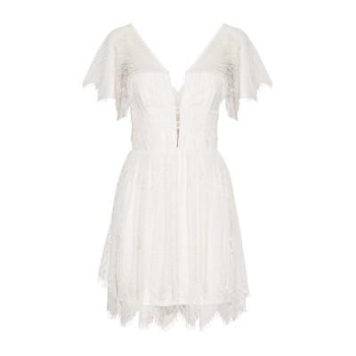 NICHOLAS ミニワンピース&ドレス アイボリー 6 ポリエステル 100% ミニワンピース&ドレス