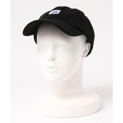 帽子 キャップ 【Lee】LOW CAP POY SUEDE / 【リー】ローキャップ スエード オーバーライド