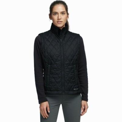 (取寄)マーモット レディース キッツビュール インサレーテッド ベスト Marmot Women Kitzbuhel Insulated Vest Black
