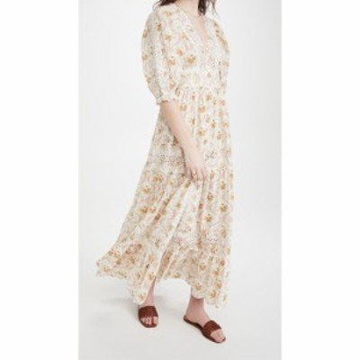ティモ byTimo レディース ワンピース マキシ丈 ワンピース・ドレス Cotton Slub Maxi Dress Wallpaper