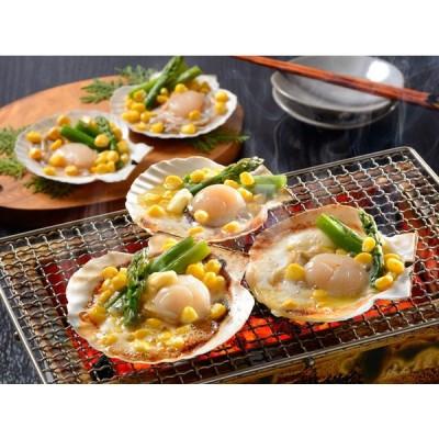 北海道産 帆立バター焼きセット 贈答 ギフト お歳暮(送料無料)