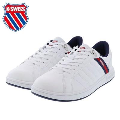 ケースイス カジュアルシューズ メンズ スニーカー 5ストライプ ホワイト K・SWISS KS 300 36101020