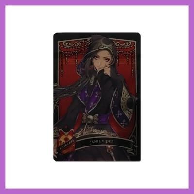 <メール便可198円!>ディズニー ツイステッドワンダーランド メタルカードコレクション2 パックVer. 【ジャミル】P2-05