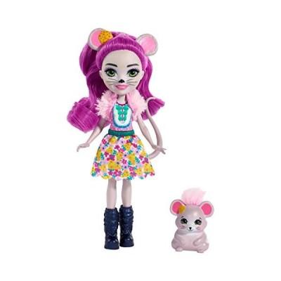 エンチャンティマルズ 人形 ドール FXM76 Enchantimals Mayla Mouse Doll & Fondue Figure