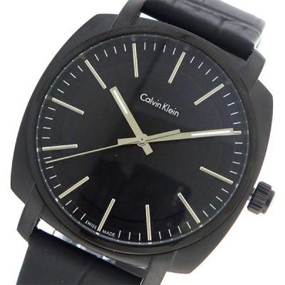 カルバンクライン Calvin Klein CK クオーツ メンズ 腕時計 K5M314C1 ブラック/ブラック ブラック