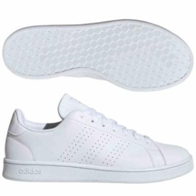アディダス ADVANCOURT BASE ランニングホワイト×ランニングホワイト×ローホワイト  adidas EE7692