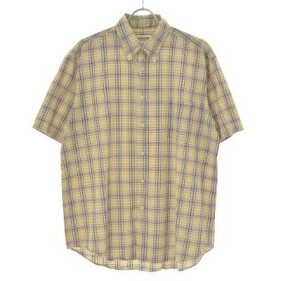 McGREGOR / マクレガー チェック柄ボタンダウン 半袖シャツ