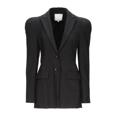 ティビ TIBI テーラードジャケット ブラック 2 ポリエステル 53% / ウール 43% / ポリウレタン 4% テーラードジャケット