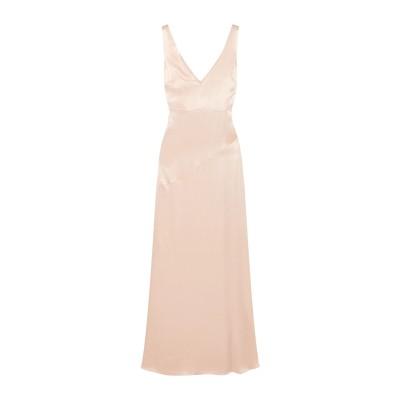 LES HÉROÏNES by VANESSA COCCHIARO ロングワンピース&ドレス ライトピンク 34 レーヨン 50% / レーヨン 5