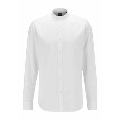 ボス シャツ メンズ トップス Shirt - white