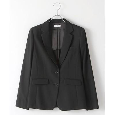 SUIT CLOSET/スーツクローゼット 定番スーツ 無地2つボタンジャケット 黒 42
