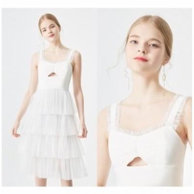 結婚式のお呼ばれ40代 結婚式のお呼ばれ30代 結婚式 ドレス お呼ばれ ワンピース 20代 ノースリーブ フリル パーティードレス チュチュス