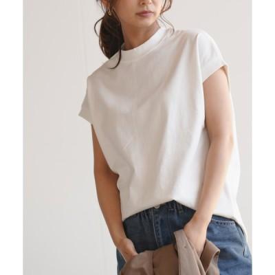 【アールピーエス】ハイネックBIGTシャツ