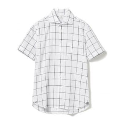 【アウトレット】BEAMS HEART / カッタウェイ シアサッカーショートスリーブシャツ