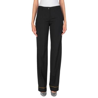 ミュウミュウ MIU MIU パンツ ブラック 40 バージンウール 98% / ポリウレタン 2% パンツ