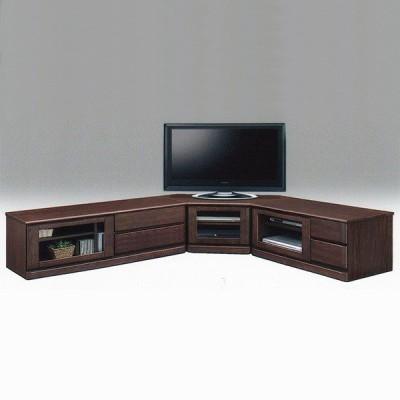 TVボード コーナー テレビ台 テレビボード 3点セット 日本製 AV収納