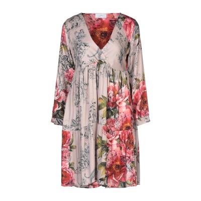 SOALLURE ミニワンピース&ドレス ドーブグレー 40 ポリエステル 100% / レーヨン ミニワンピース&ドレス
