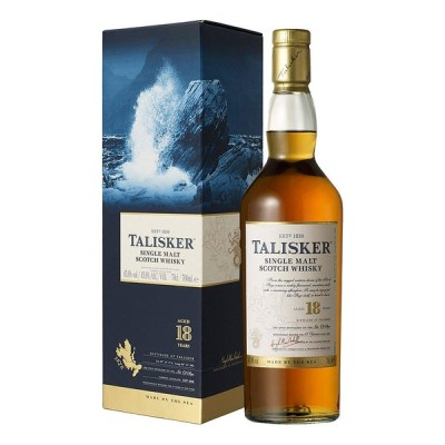 お酒 ウイスキー アイランズ シングルモルト TALISKER (タリスカー) 18年 45.8° 700ml (専用箱入り)