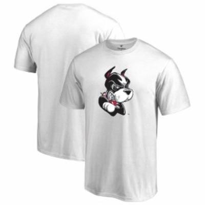 Fanatics Branded ファナティクス ブランド スポーツ用品  Boston University White Big & Tall Primary Logo T-Shirt
