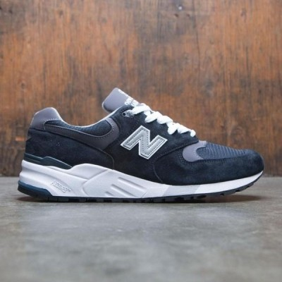 ユニセックス スニーカー シューズ New Balance Men 999 M999CBL - Made In USA (navy / pewter)