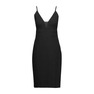 アリス・アンド・オリビア ALICE + OLIVIA ミニワンピース&ドレス ブラック 6 アセテート 60% / ポリエステル 40% / ナイ