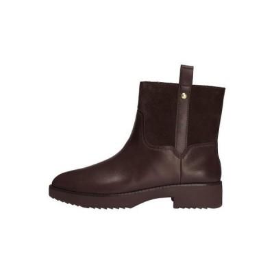 フィットフロップ レディース 靴 シューズ SIGNEY BOOTS - Classic ankle boots - chocolate brown