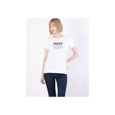 ロキシー ROXY ROXY/ロキシー   ルーズシルエットロゴTシャツ   RST211074 (ホワイト)
