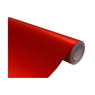 Hachi Auto Matte Satin Anodized Red Vinyl Car Wrap Film 6FT x 5FT並行輸入品